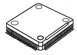Low Profile Plastic Quad Flat Pack (LQFP) pic