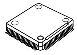 Low Profile Plastic Quad Flat Pack (LQFP)