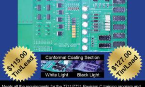 7711/21C Advanced Rework Repair Certification Kit, Tin Lead