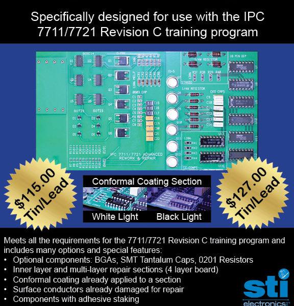 7711/21C Advanced Rework Repair Certification Kit, Tin Lead pic